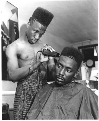 high top fade. with the high top fade and